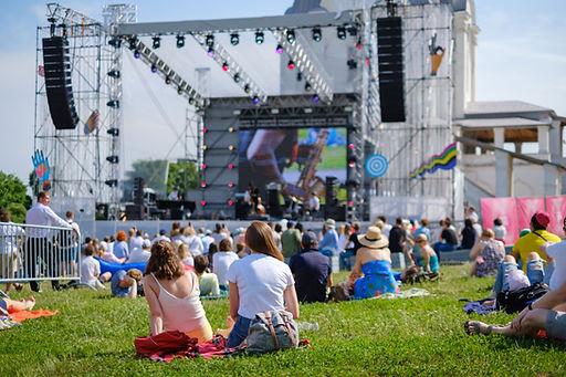 Concert en plein air