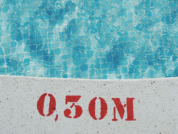 Profondeur de la piscine