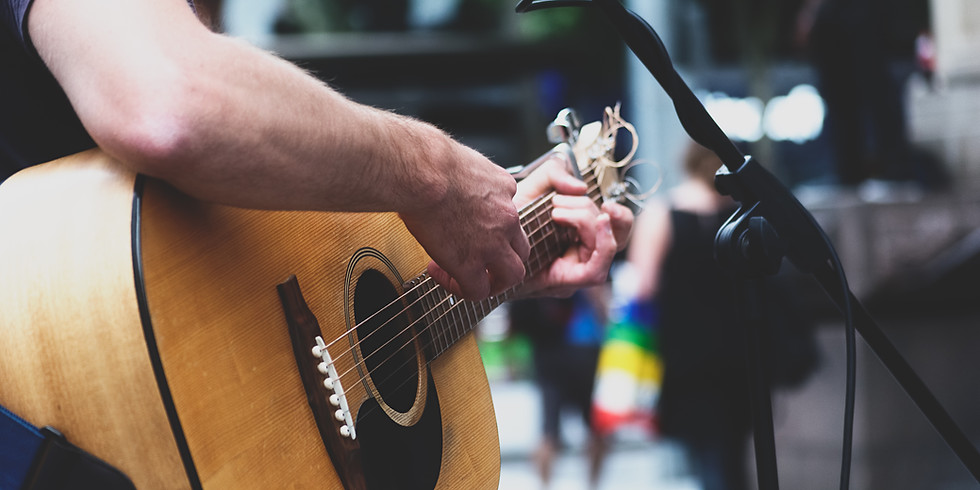 Live music with Johnny Smallwood