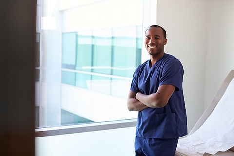 Young Male Nurse