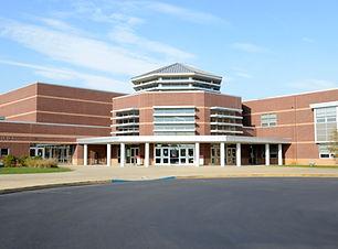 Exterior de la escuela secundaria