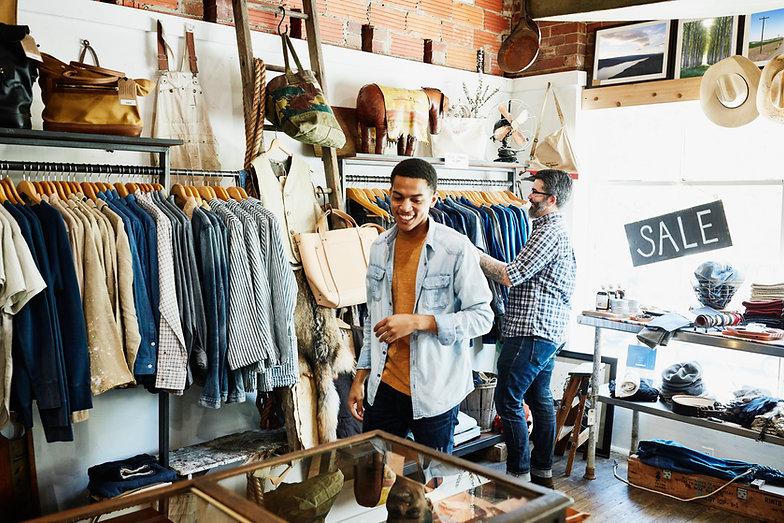 Mens Clothing Boutique