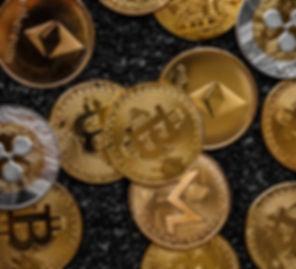 Verstreute Münzen