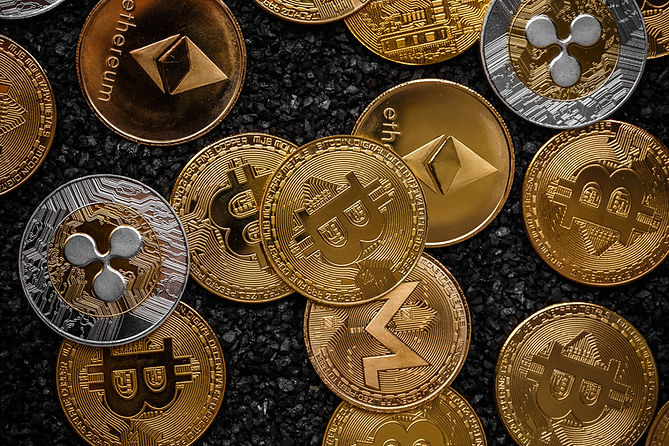 흩어진 동전