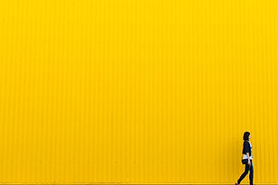 Yellow Tin Wall