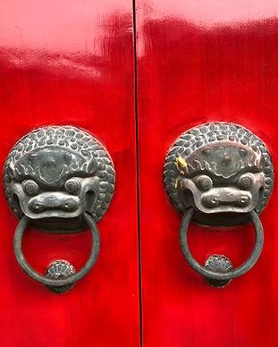 Rote Türen