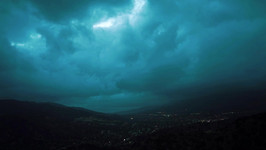 Stürmischer Himmel