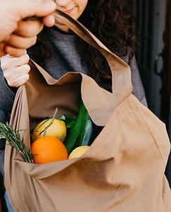 Bolsa de comestibles
