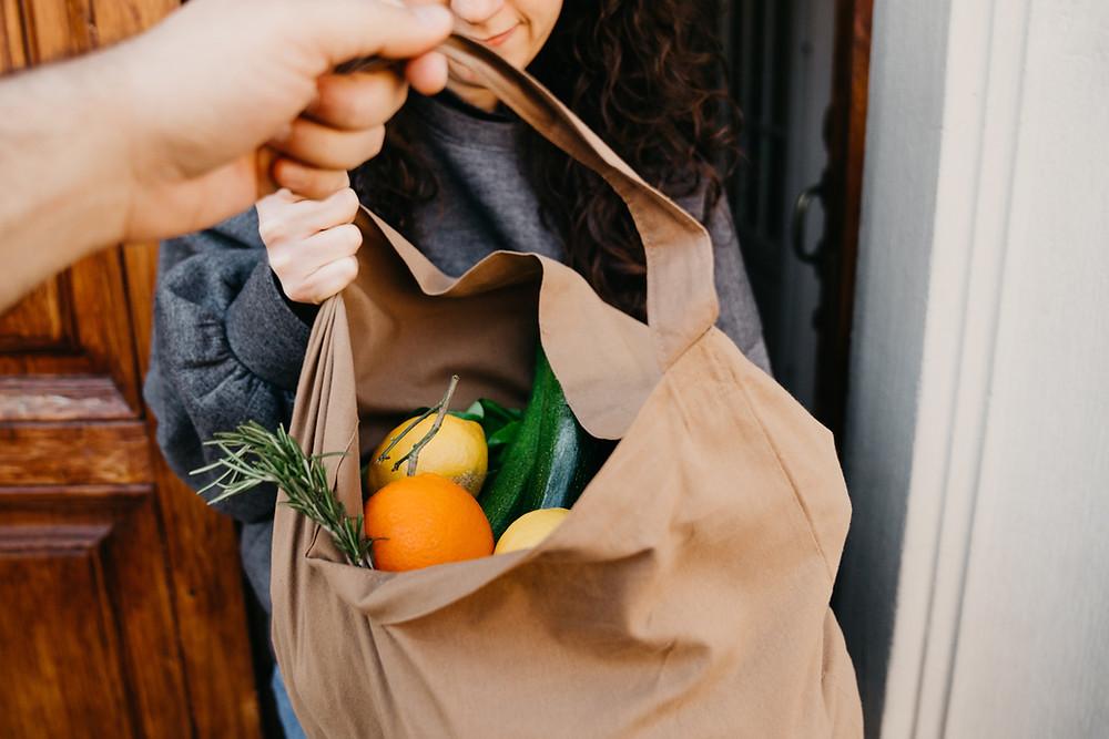 Delivering Grocery