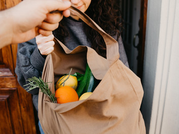 Remember to bring reusable bags when shopping