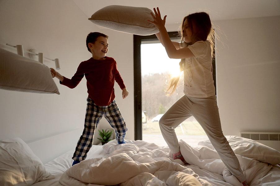 Bataille d'oreillers