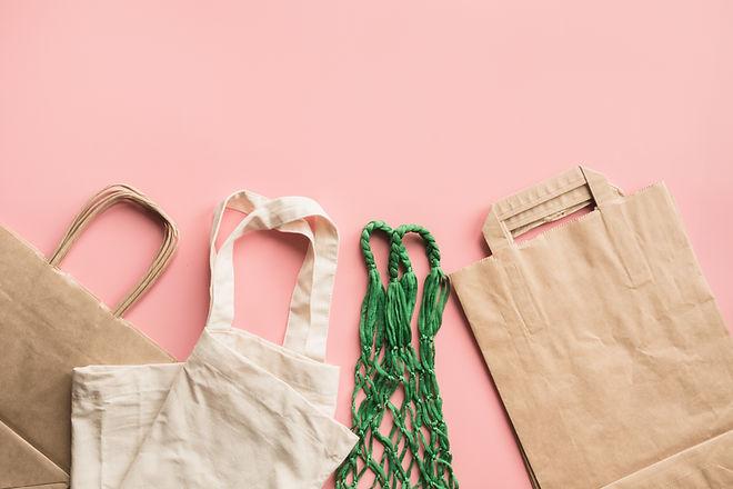 Vielzahl von Taschen