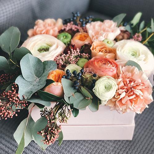 3 Jar Flower Centerpiece Box