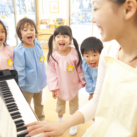 歌は子供の能力を伸ばす