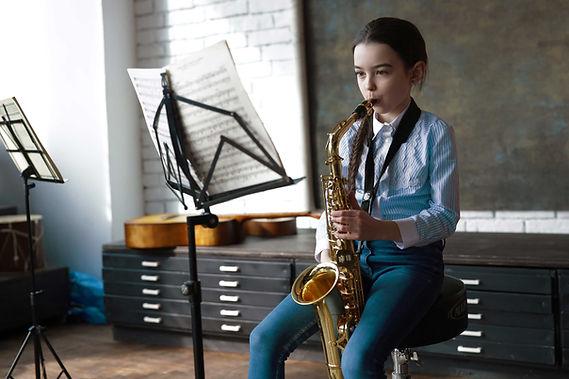 Clase de saxofón