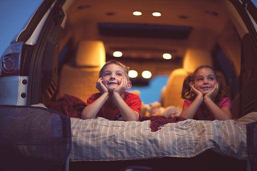 Enfants au Drive-in