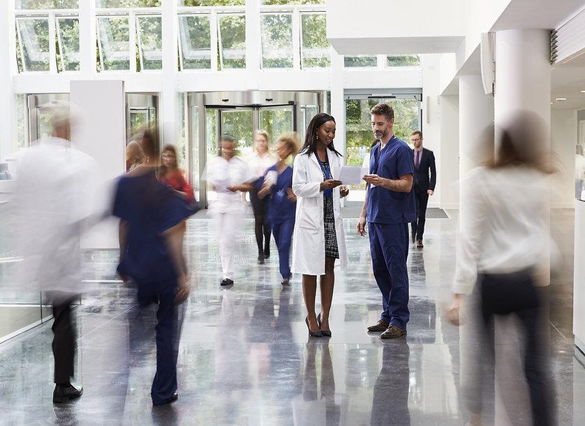 Funcionários do Hospital