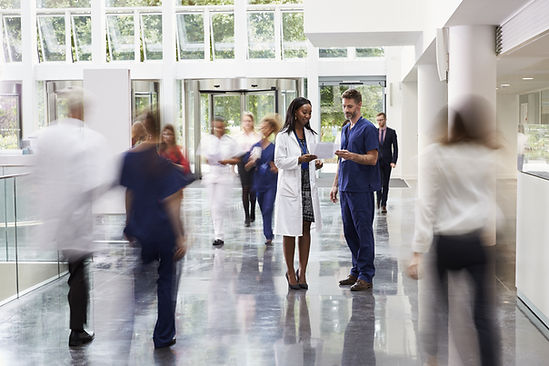 Krankenhausangestellte