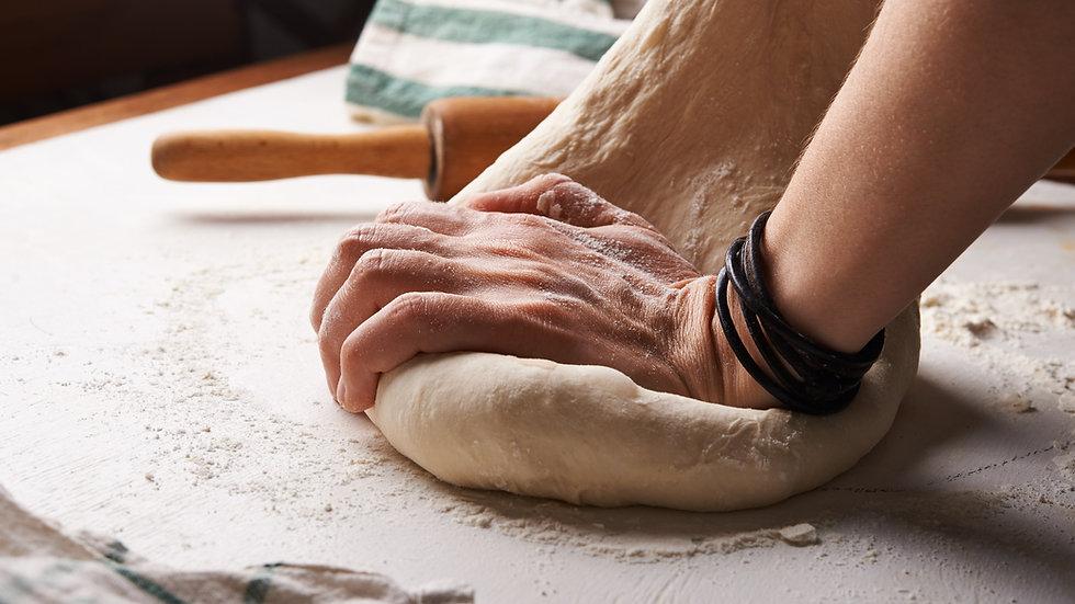 72 hour pizza dough!