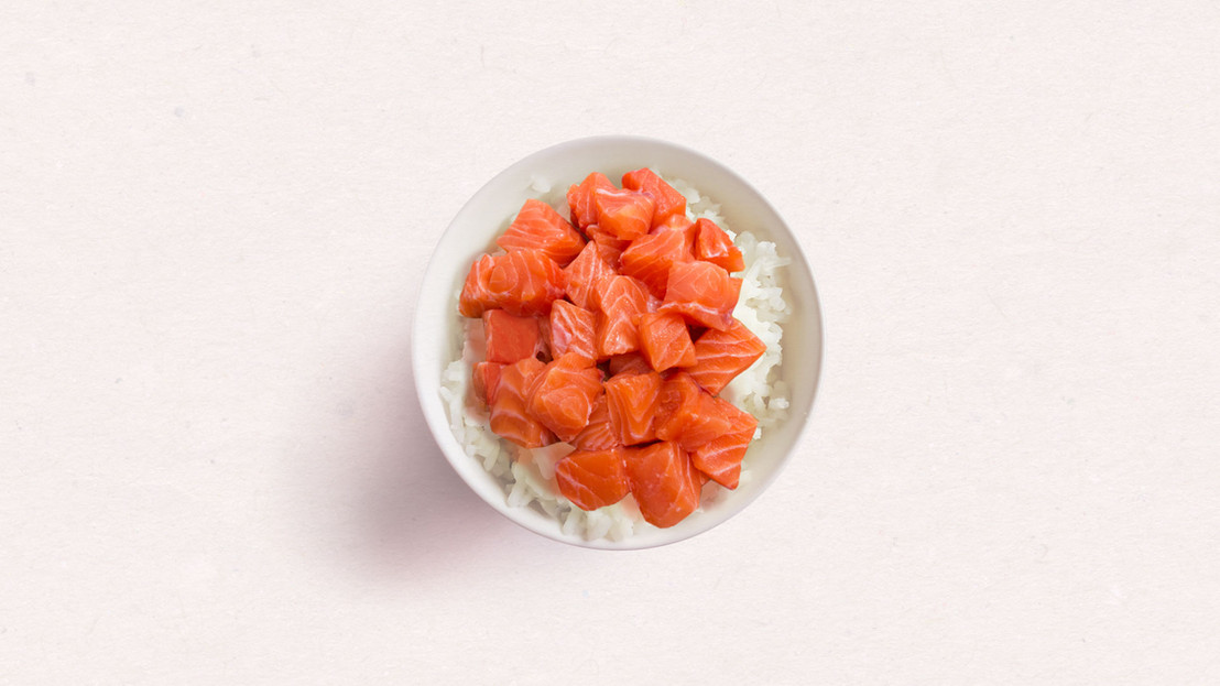 Salmon and Rice Bowl