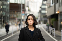 Young Woman on Street