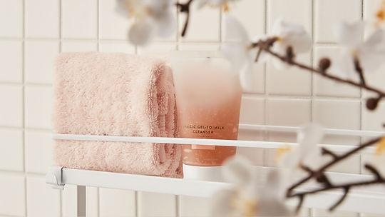 Savon et serviette