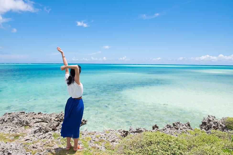 女性の沖縄一人旅