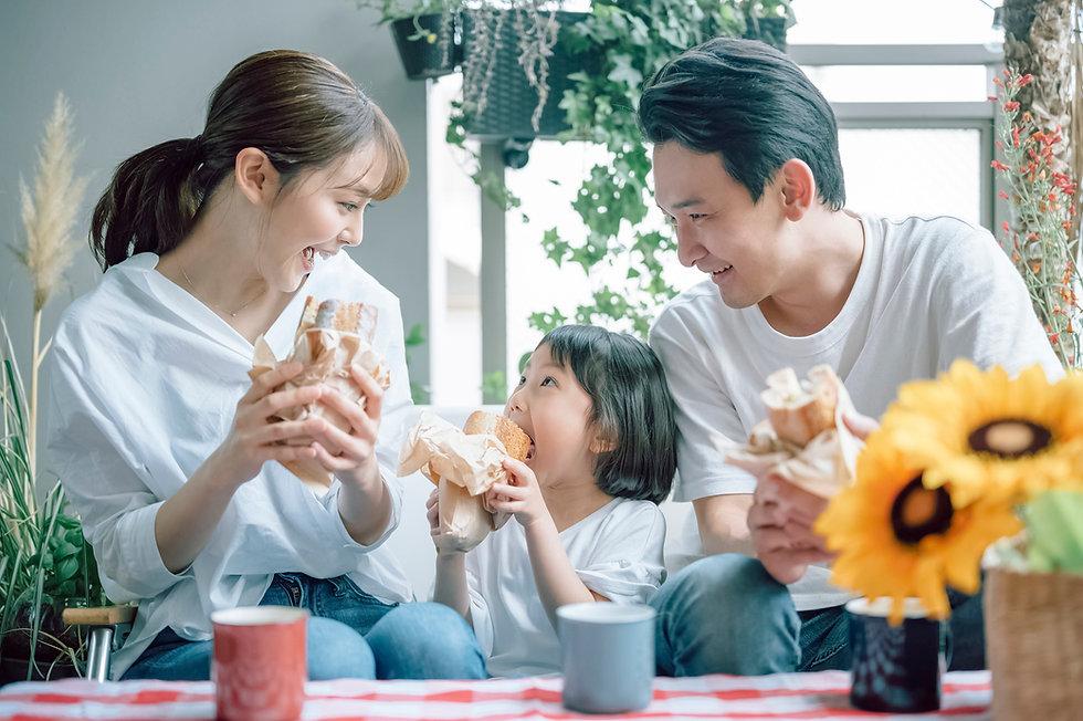 家族 ライフスタイル 食事