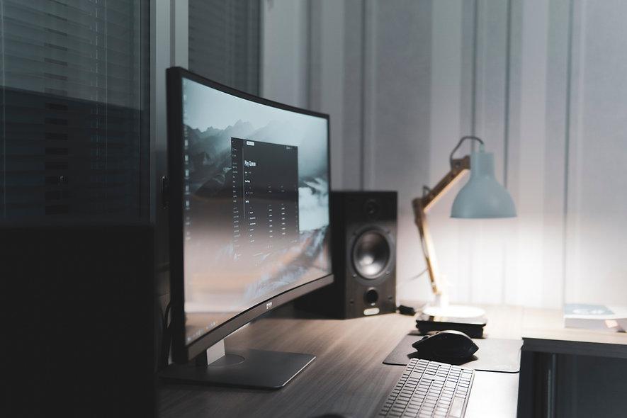 Schreibtischcomputer