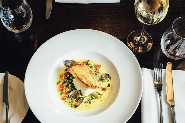 Seafood Dish The Swan