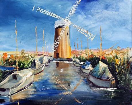 Schilderij Nederland