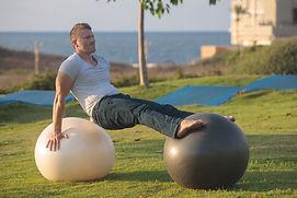 Balancing on Fit Balls