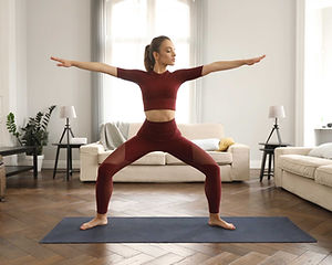 Practicing Yoga at Home