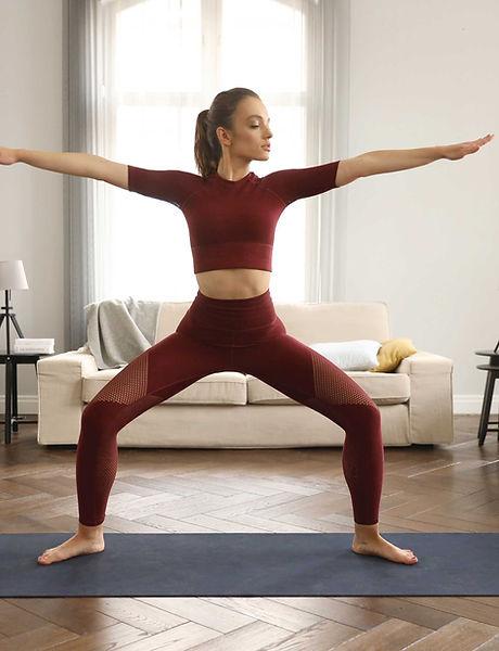 Practising Yoga at Home