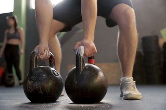Lifting Kettlebells