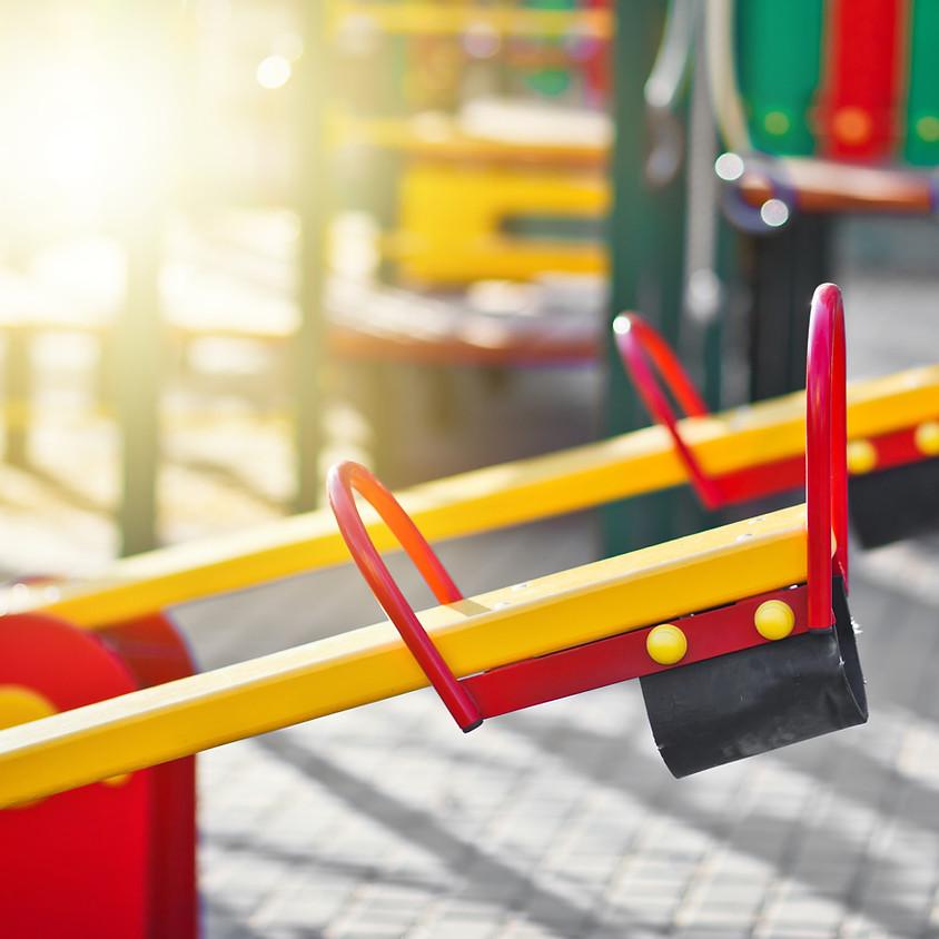 Playground Clean Up & Mulch Spreading