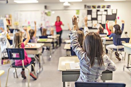 Klaslokaal op basisschool