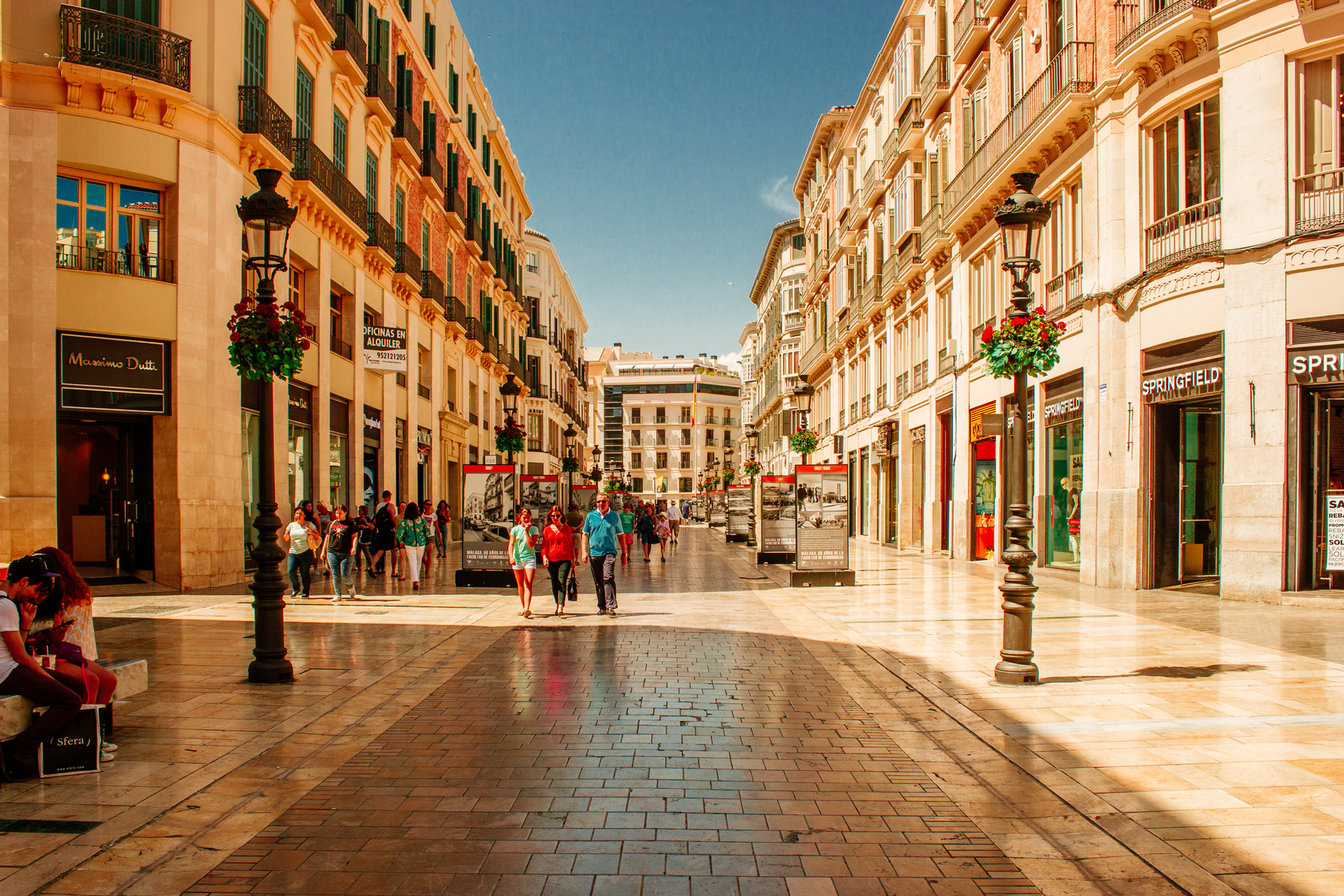Malaga ciudad a Malaga aeropuerto