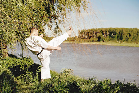 Karate Practice by the Waters