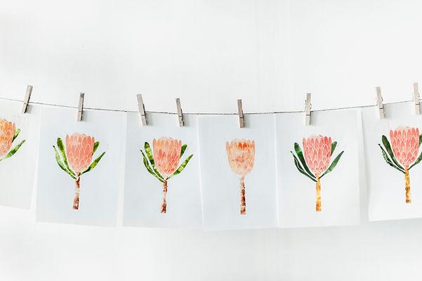 Impressions de fleurs d'oranger