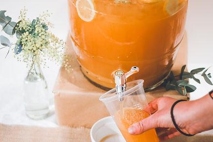 フレッシュオレンジジュース