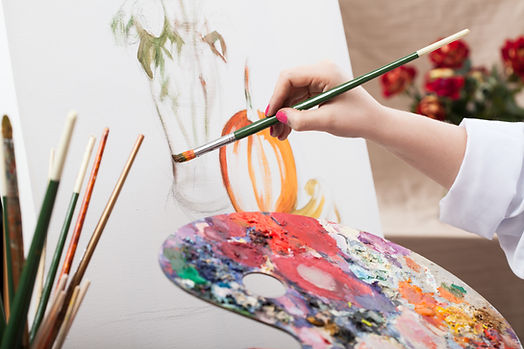 Online paint and wine artisti