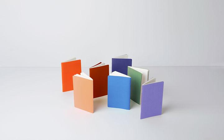 Cahiers colorés