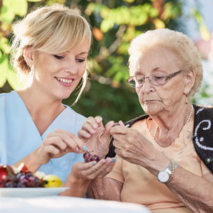 Home care prevents or postpones institutionalization.
