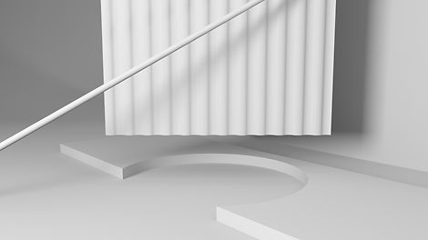 White 3D Objects