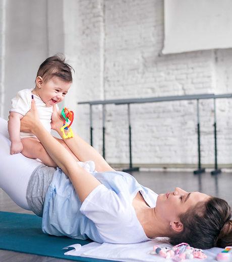 Cvičení s dítětem