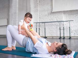 Tränar med baby