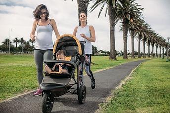 Postpartum run