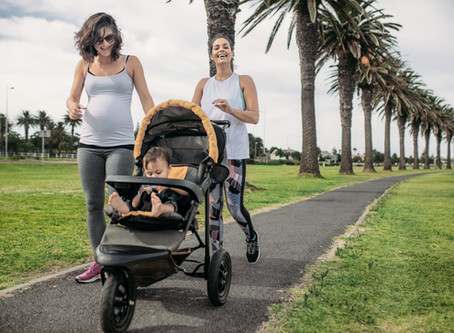 The Running Mama Trilogy: Jogging Stroller Running Form