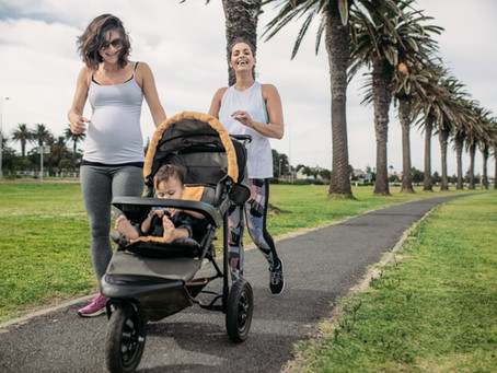 RUNNING WITH A REGULAR STROLLER - IS IT POSSIBLE?